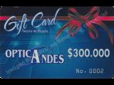 Bono de regalo de $300,000
