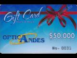 Bono de regalo de $50,000